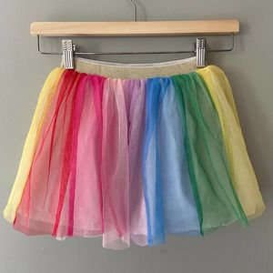 Hanna Andersson Rainbow Skirt In Soft Tulle 5